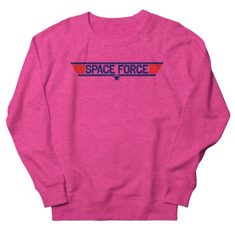 Space Force Men's Sweatshirt by Wood-Man's Artist Shop