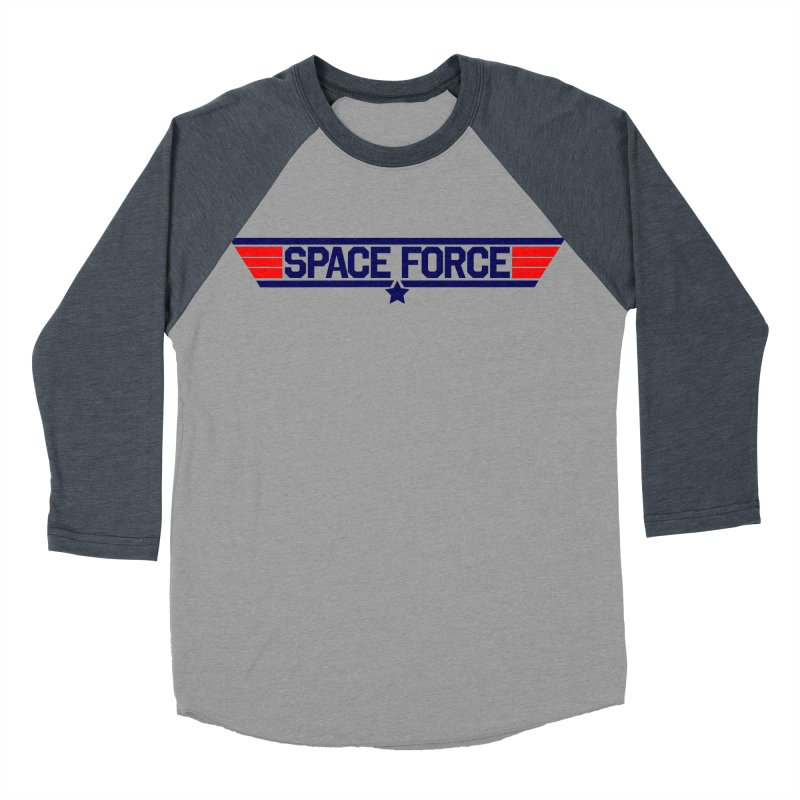 Space Force Men's Baseball Triblend T-Shirt by Wood-Man's Artist Shop