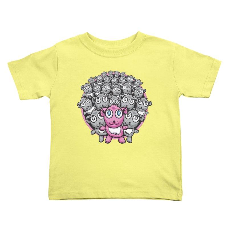 Supercute Kids Toddler T-Shirt by Wood-Man's Artist Shop