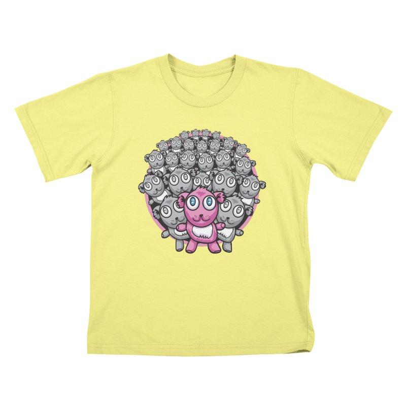 Supercute Kids T-shirt by Wood-Man's Artist Shop