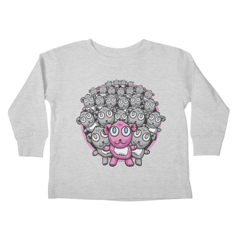 Supercute Kids Toddler Longsleeve T-Shirt by Wood-Man's Artist Shop
