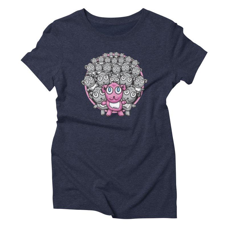 Supercute Women's Triblend T-shirt by Wood-Man's Artist Shop