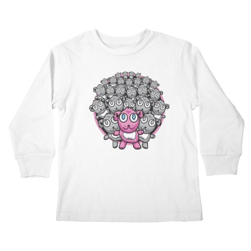 Supercute Kids Longsleeve T-Shirt by Wood-Man's Artist Shop