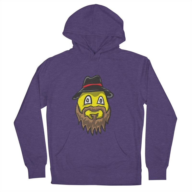 Beardo the Magnificent Women's Pullover Hoody by Wood-Man's Artist Shop