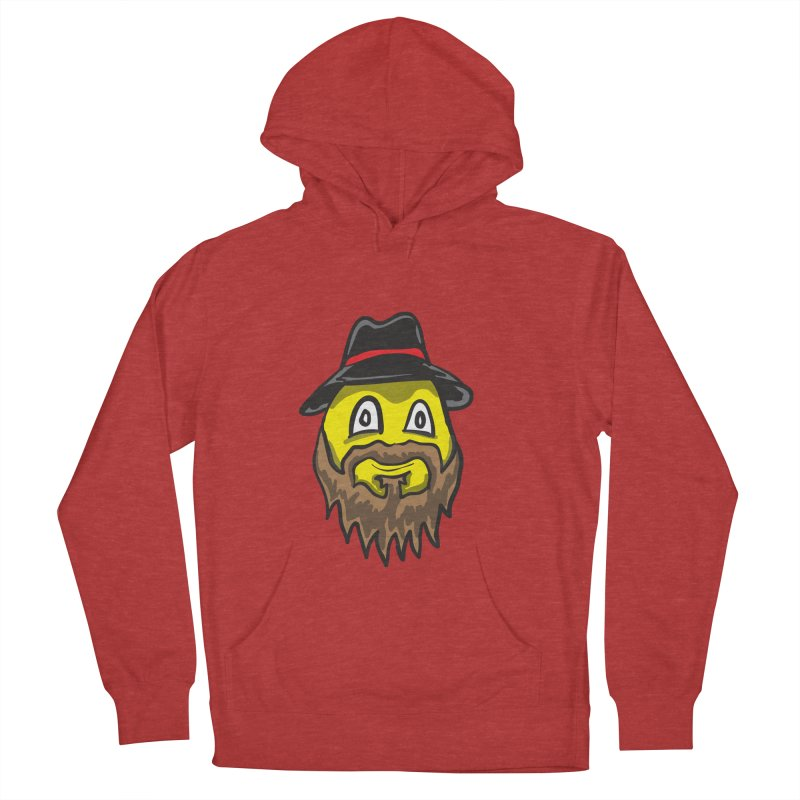 Beardo the Magnificent Men's Pullover Hoody by Wood-Man's Artist Shop