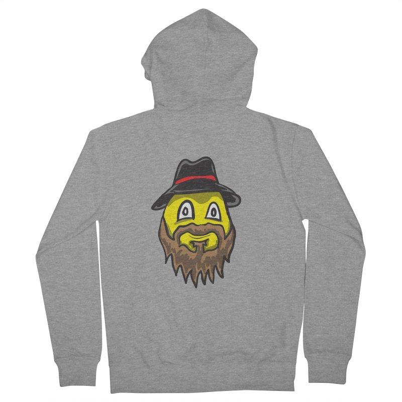Beardo the Magnificent Men's Zip-Up Hoody by Wood-Man's Artist Shop