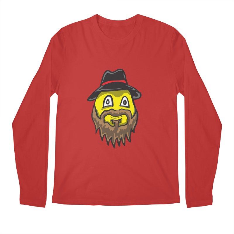 Beardo the Magnificent Men's Longsleeve T-Shirt by Wood-Man's Artist Shop