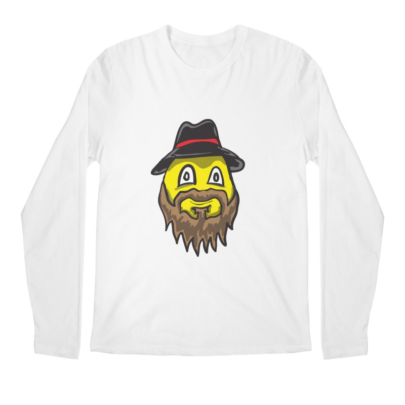 Beardo the Magnificent Men's Longsleeve T-Shirt by Wood-Man's Artist Shop