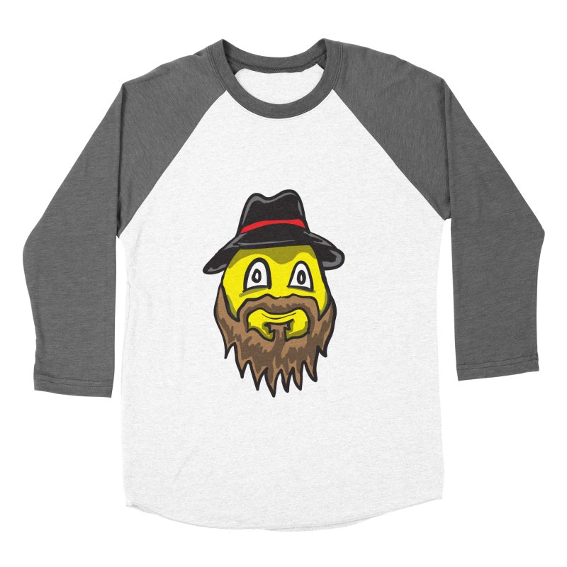 Beardo the Magnificent Women's Baseball Triblend T-Shirt by Wood-Man's Artist Shop