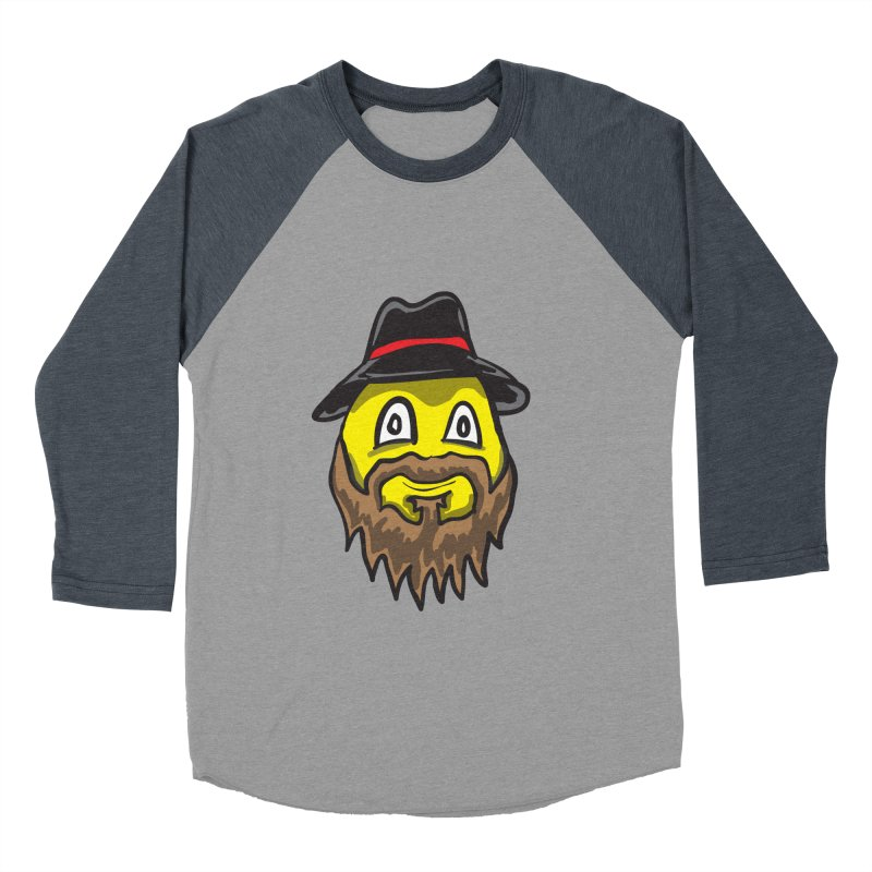 Beardo the Magnificent Men's Baseball Triblend T-Shirt by Wood-Man's Artist Shop