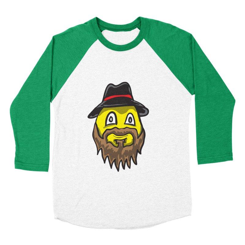 Beardo the Magnificent Men's Baseball Triblend T-Shirt by Wood-Man's Artist Shop