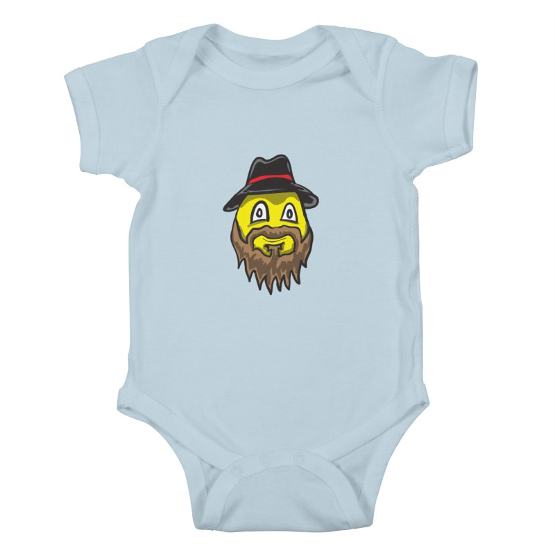 Beardo the Magnificent Kids Baby Bodysuit by Wood-Man's Artist Shop