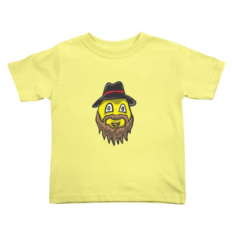 Beardo the Magnificent Kids Toddler T-Shirt by Wood-Man's Artist Shop