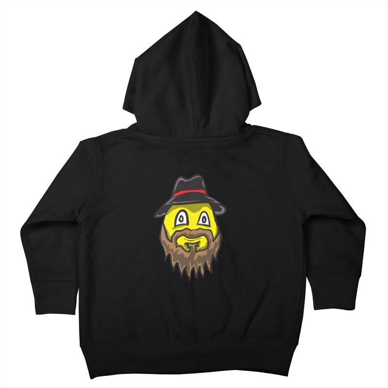 Beardo the Magnificent Kids Toddler Zip-Up Hoody by Wood-Man's Artist Shop