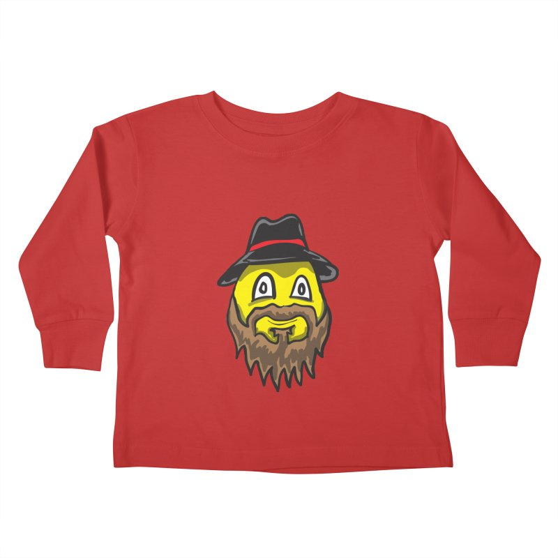 Beardo the Magnificent Kids Toddler Longsleeve T-Shirt by Wood-Man's Artist Shop