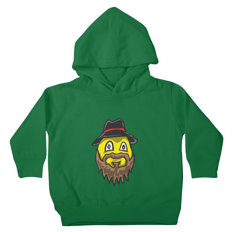 Beardo the Magnificent Kids Toddler Pullover Hoody by Wood-Man's Artist Shop
