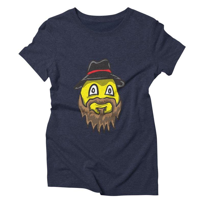 Beardo the Magnificent Women's Triblend T-shirt by Wood-Man's Artist Shop