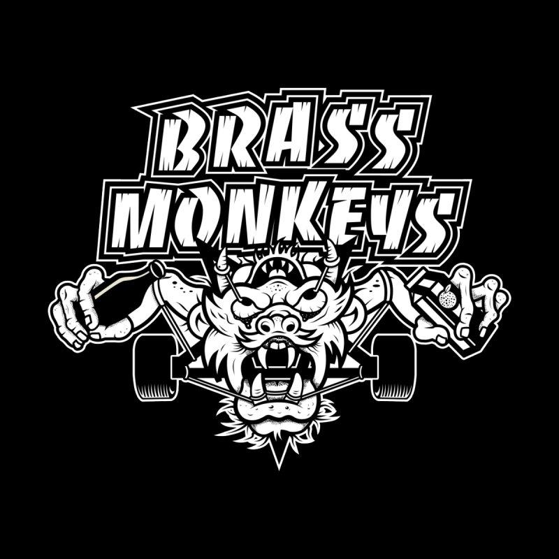 Sk8   Hail Satan! (darks) by Brass Monkeys Skateboard Co.