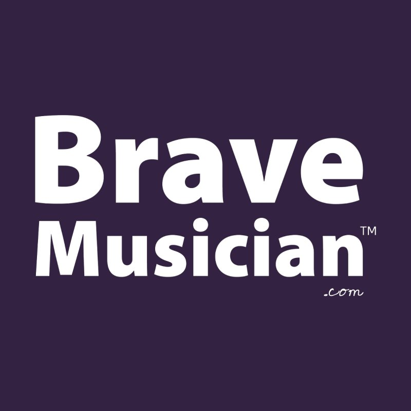 Brave Musician Merch Men's T-Shirt by Brave Musician Shop