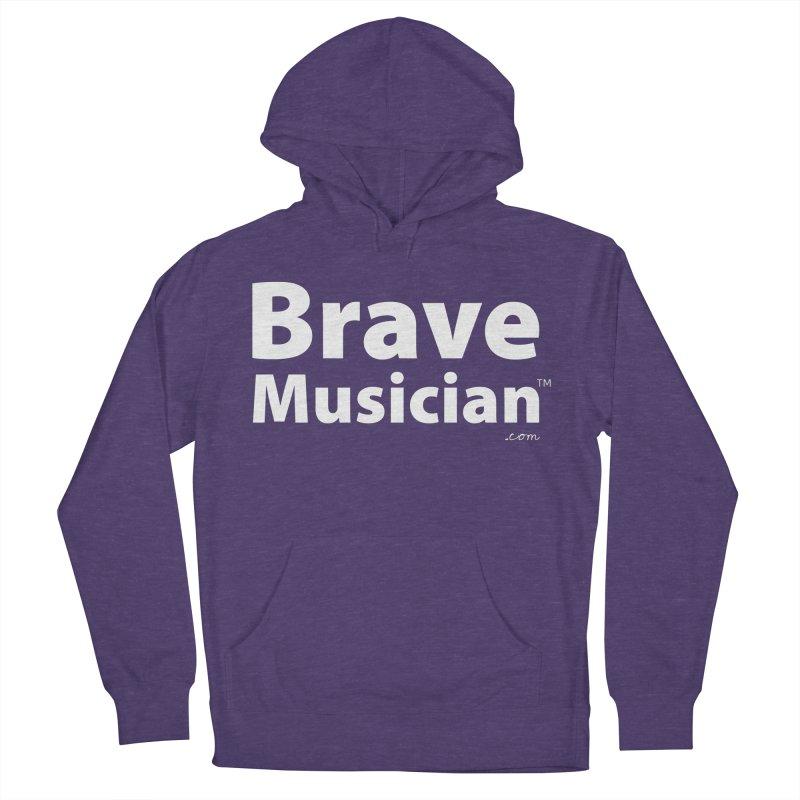 Brave Musician Merch Men's Pullover Hoody by Brave Musician Shop
