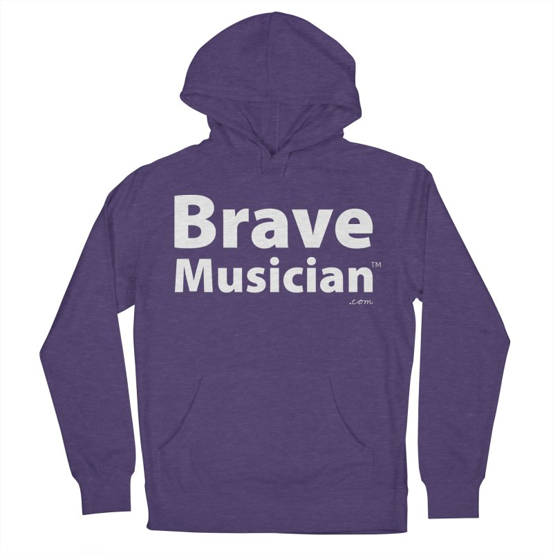 Brave Musician Merch Men's French Terry Pullover Hoody by Brave Musician Shop
