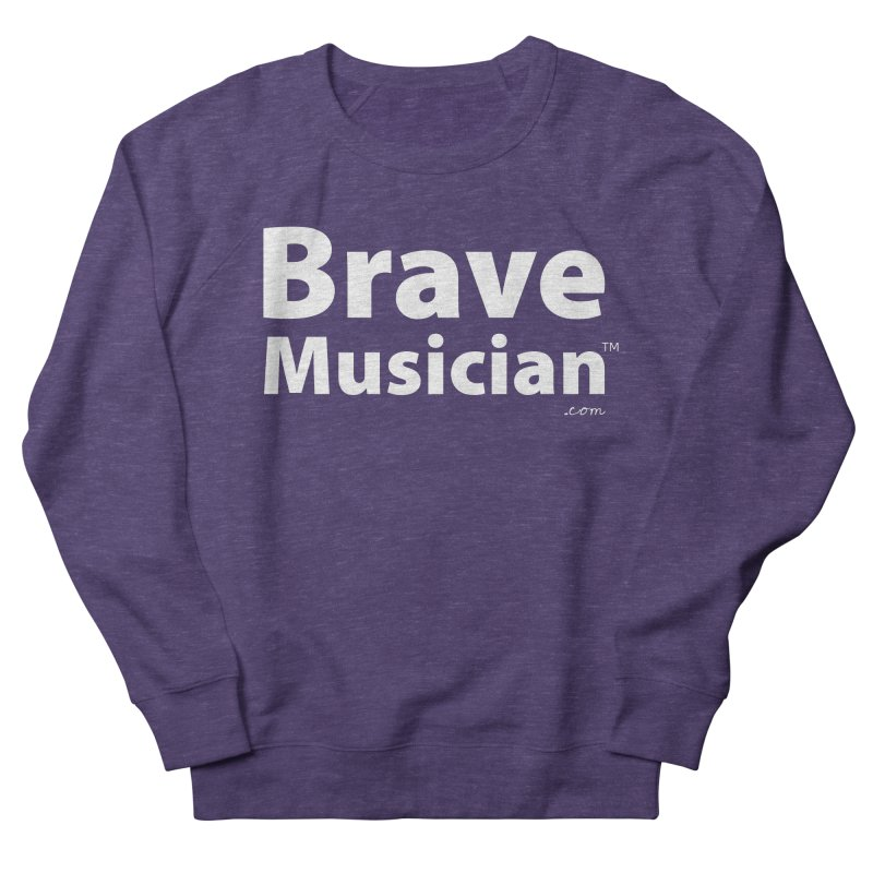 Brave Musician Merch Women's French Terry Sweatshirt by Brave Musician Shop