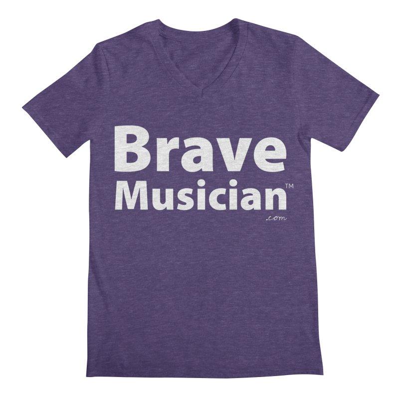 Brave Musician Merch Men's V-Neck by Brave Musician Shop