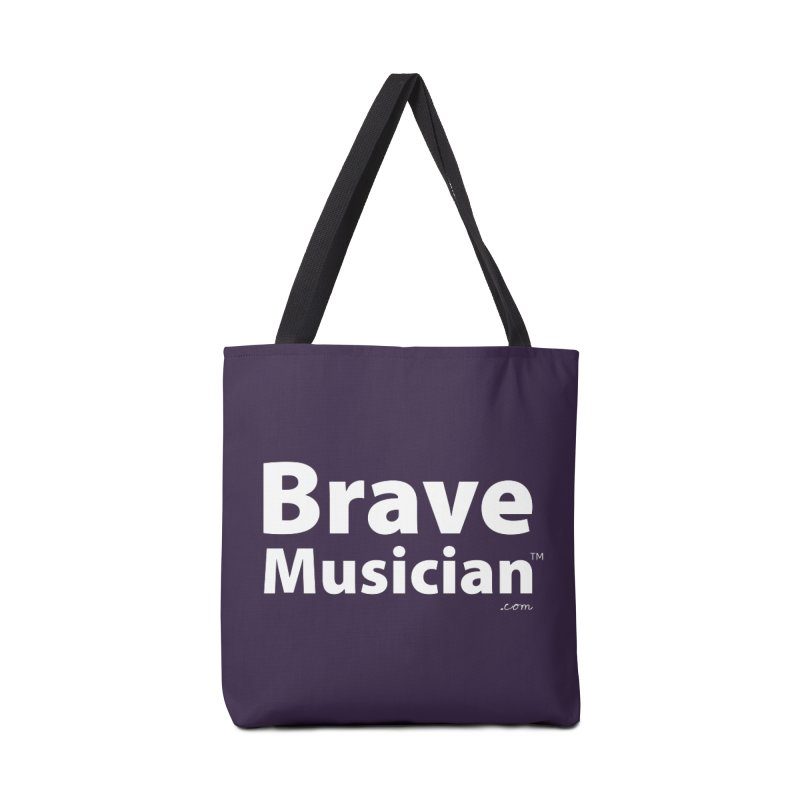Brave Musician Merch Accessories Tote Bag Bag by Brave Musician Shop