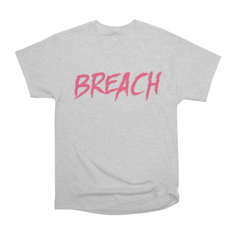 Breach (Pink) Men's Heavyweight T-Shirt by breach's Artist Shop