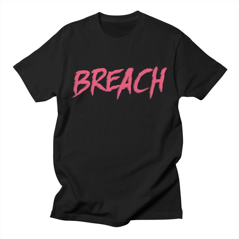 Breach (Pink) Men's Regular T-Shirt by breach's Artist Shop