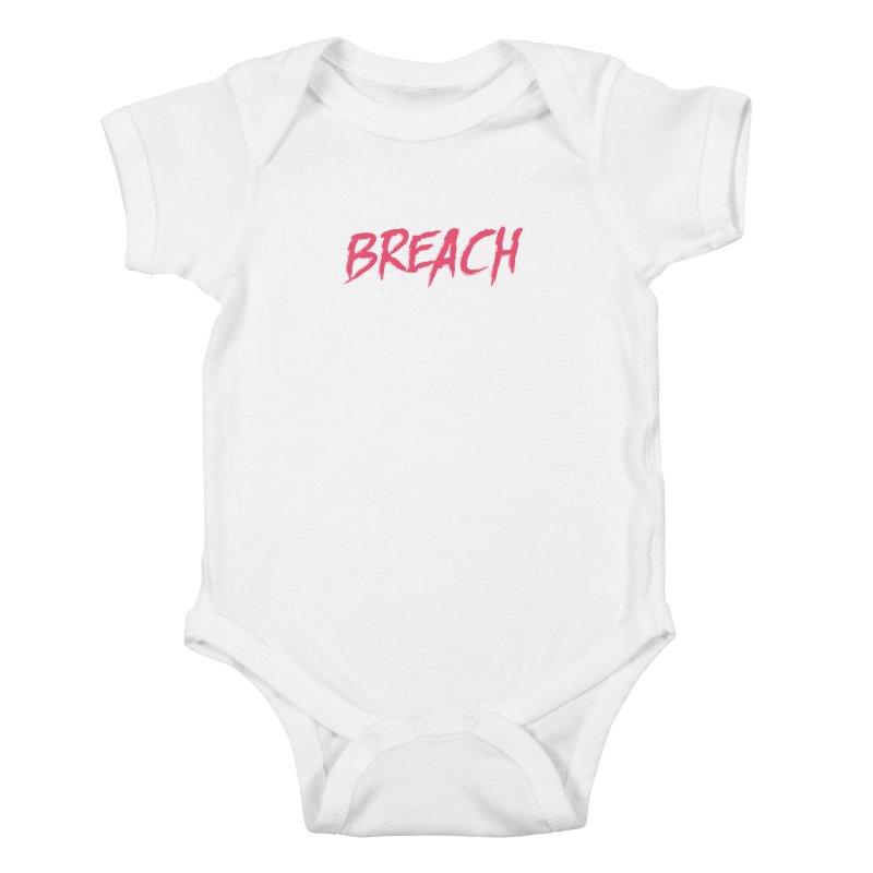 Breach (Pink) Kids Baby Bodysuit by breach's Artist Shop
