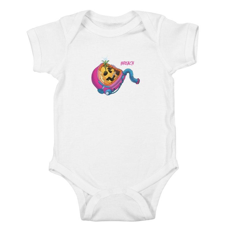 Breach Astronaut Kids Baby Bodysuit by breach's Artist Shop