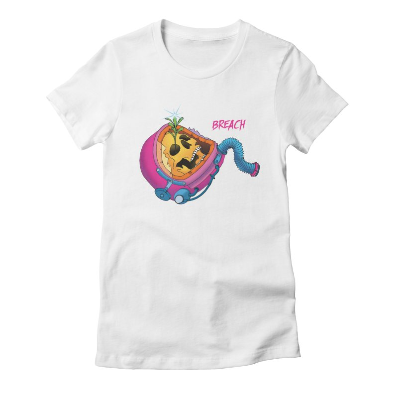 Breach Astronaut Women's Fitted T-Shirt by breach's Artist Shop
