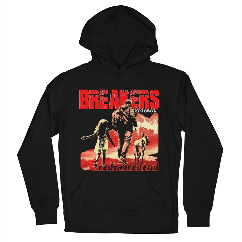 Breakers red design tshirt Men's French Terry Pullover Hoody by breakerspodcast Shop