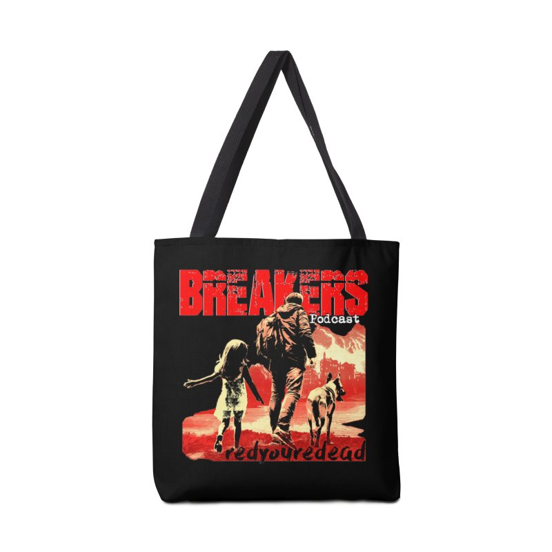 Breakers red design tshirt Accessories Tote Bag Bag by breakerspodcast Shop