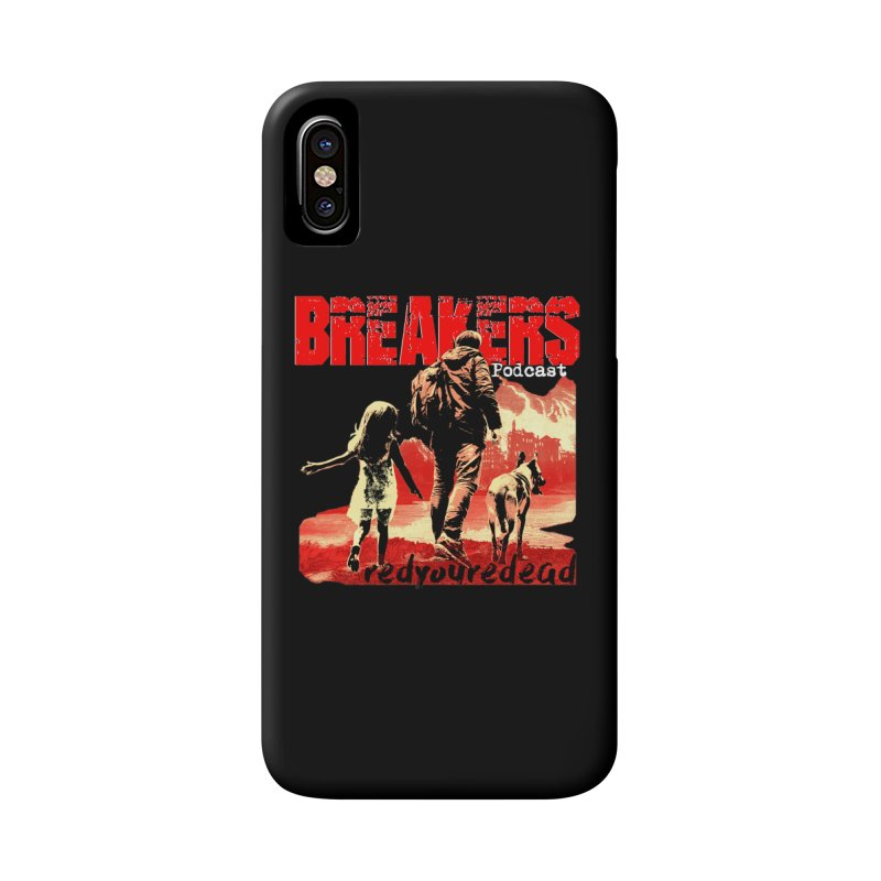 Breakers red design tshirt Accessories Phone Case by breakerspodcast Shop