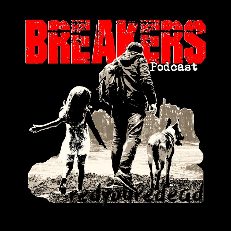 Breakers white design tshirt by breakerspodcast Shop