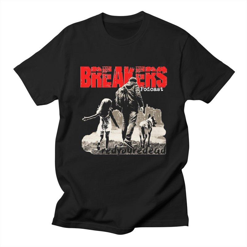 Breakers white design tshirt Men's T-Shirt by breakerspodcast Shop