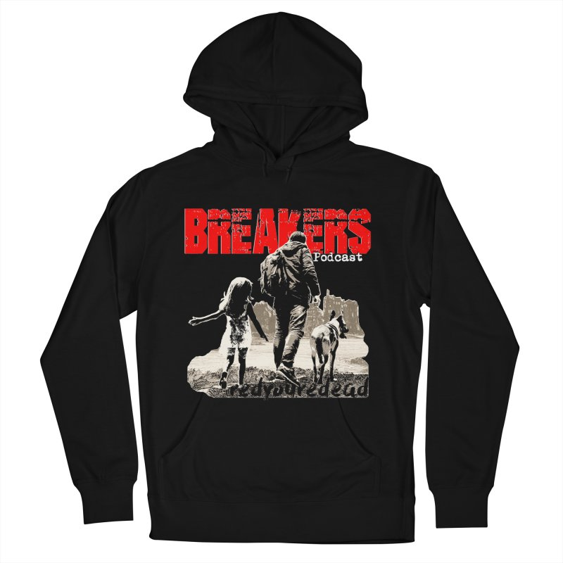 Breakers white design tshirt Men's French Terry Pullover Hoody by breakerspodcast Shop