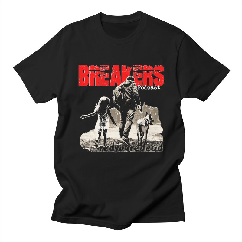 Breakers white design tshirt Men's T-Shirt by breakerspodcast Shop