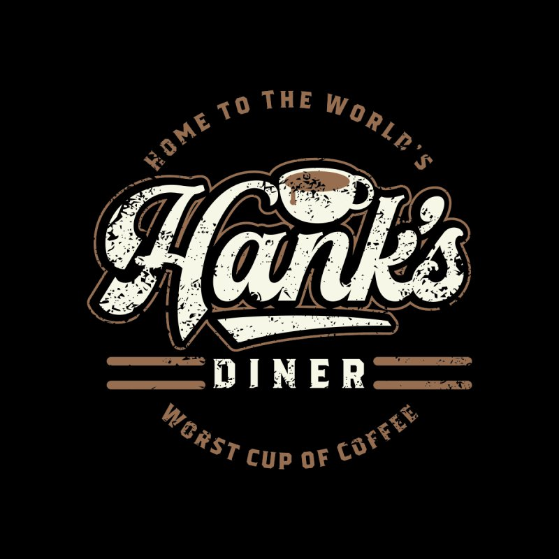 Hanks Diner Accessories Notebook by breakerspodcast Shop
