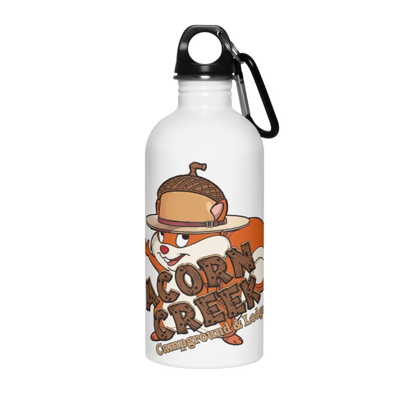 Squirrely Pete Accessories Water Bottle by breakerspodcast Shop