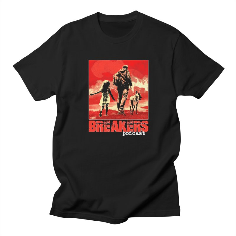 Phase I Poster (Red) Men's Regular T-Shirt by breakerspodcast Shop