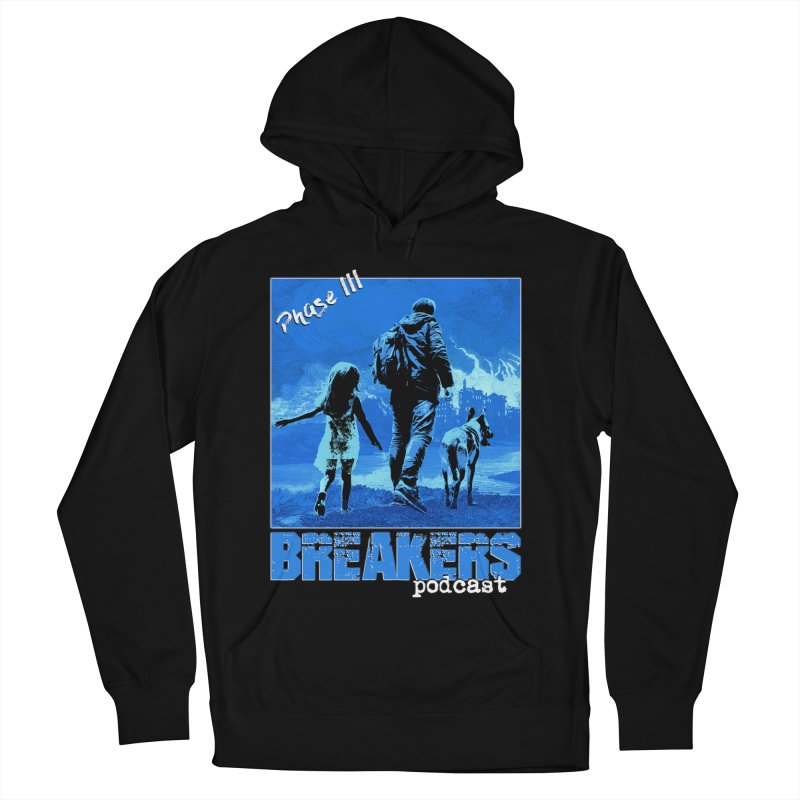 Phase III BLUE Tshirt Men's French Terry Pullover Hoody by breakerspodcast Shop