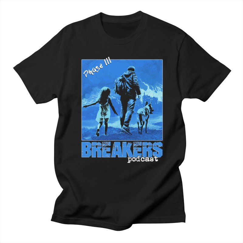 Phase III BLUE Tshirt Men's T-Shirt by breakerspodcast Shop