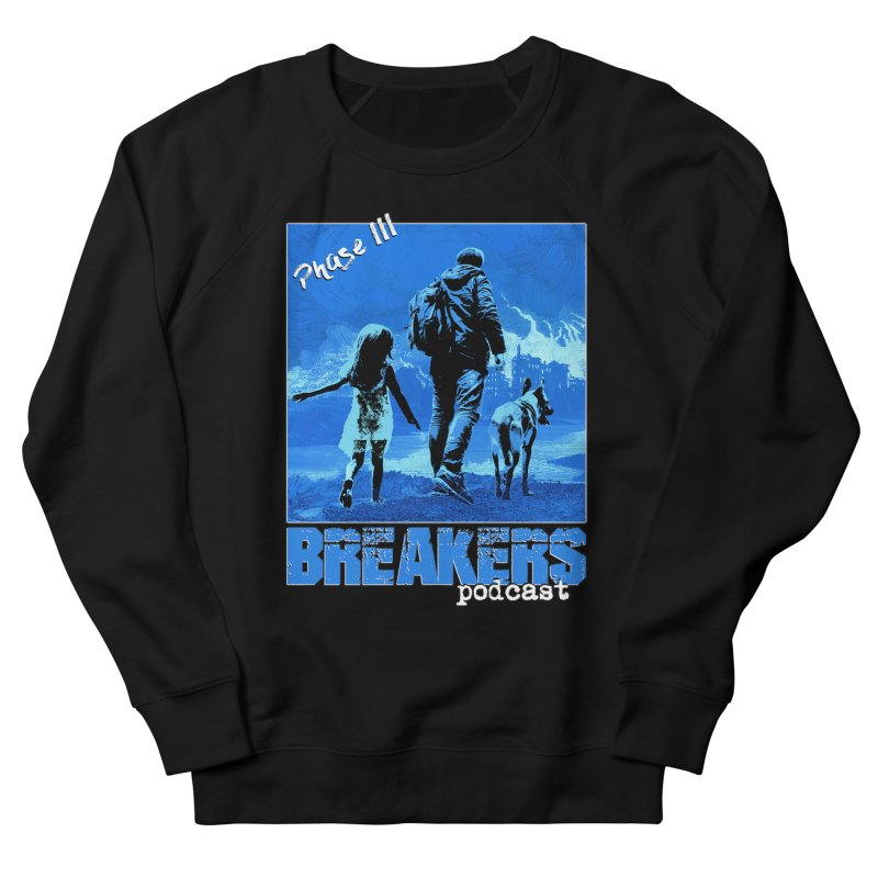 Phase III BLUE Tshirt Women's French Terry Sweatshirt by breakerspodcast Shop