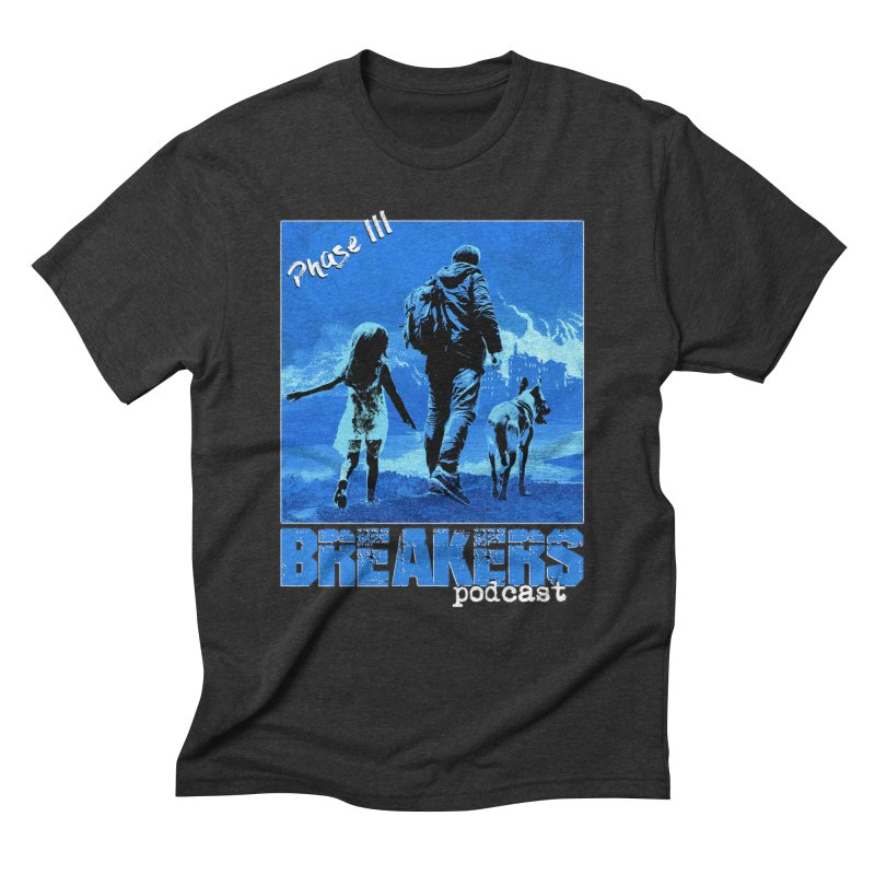 Phase III BLUE Tshirt Men's Triblend T-Shirt by breakerspodcast Shop