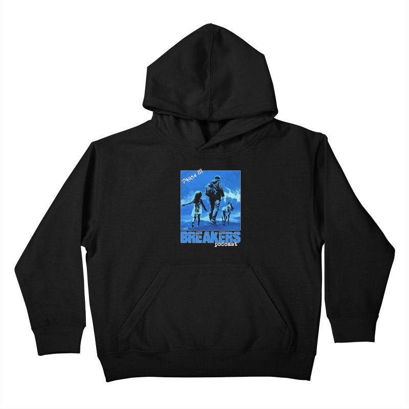 Phase III BLUE Tshirt Kids Pullover Hoody by breakerspodcast Shop
