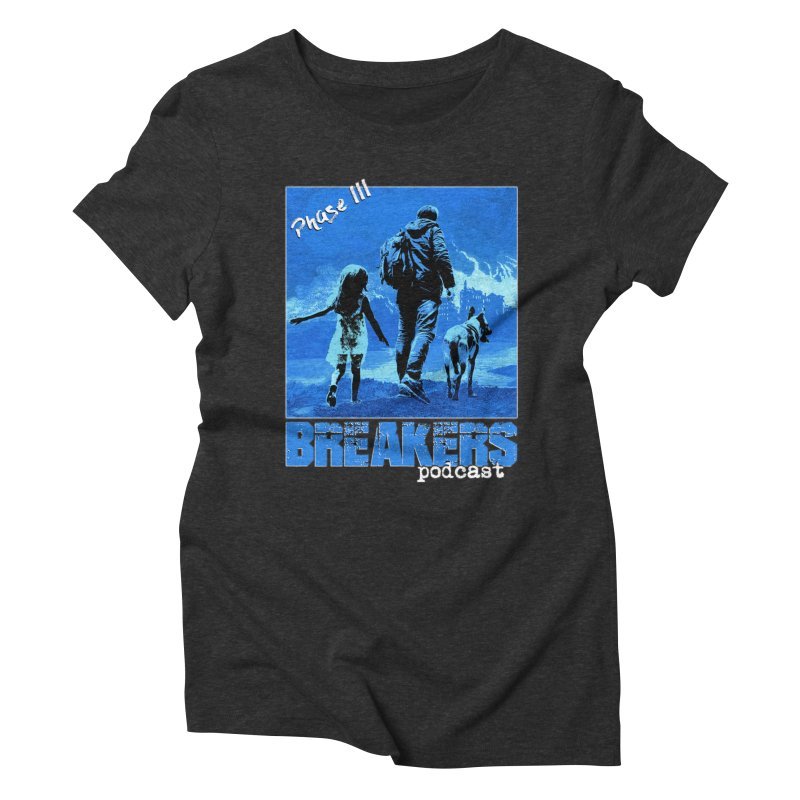 Phase III BLUE Tshirt Women's Triblend T-Shirt by breakerspodcast Shop