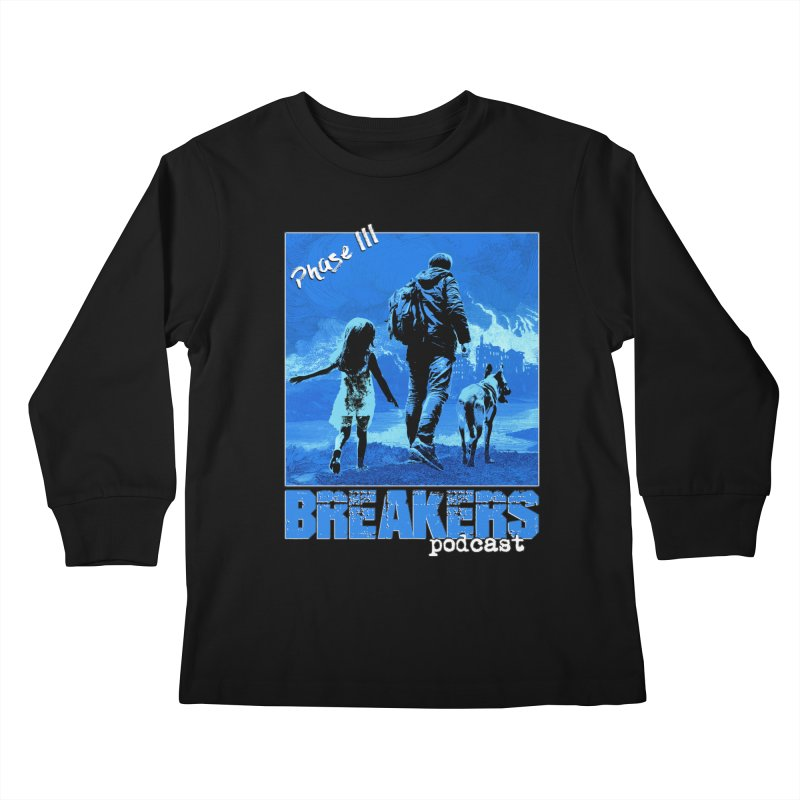 Phase III BLUE Tshirt Kids Longsleeve T-Shirt by breakerspodcast Shop
